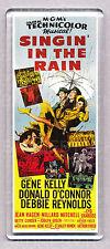 SINGIN' IN THE RAIN - movie poster 'WIDE' FRIDGE MAGNET  -  Gene Kelly Classic!