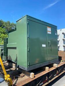 1000 kVA Pad Mount Transformer - 13200V Delta Primary