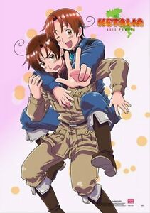 hetalia axis powers italy and romano poster wall scroll 27 8 x 19 7