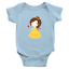 Infant-Baby-Rib-Bodysuit-Jumpsuit-Romper-Clothes-Beauty-amp-Beast-Princess-Belle thumbnail 12