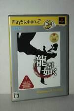 Ryu ga Gotoku GIOCO USATO OTTIMO SONY PS2 EDIZIONE GIAPPONESE NTSC/J TN1 49533