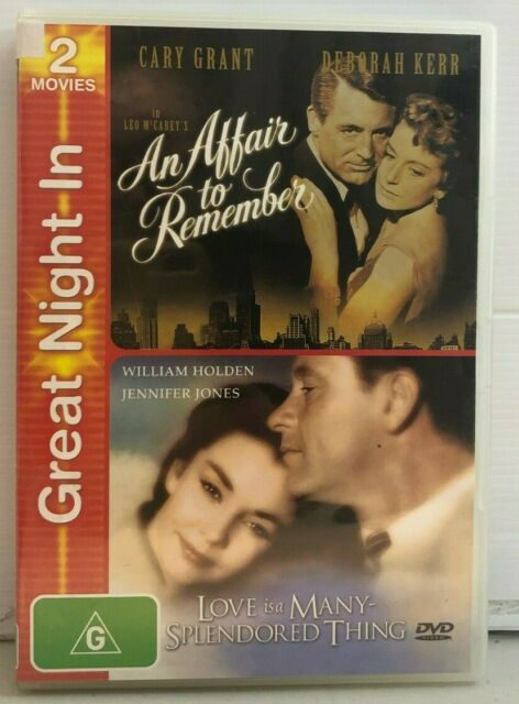An Affair to Remember/Love is a Many Splendored Thing - DVD - Free AUSPost