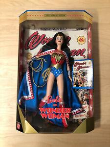 Barbie-Doll-WONDER-WOMAN-Collector-1999-DC-Comics-24638-NIB-NRFB-Mattel