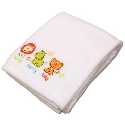 Safari Friends Pram Buggy Pushchair Cot Baby Blanket, Bedding, Soft Toy