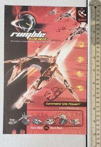 Rumble-Wars-RARE-Print-Advertisement