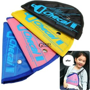 Auto Car Seat Belt Adjuster Safety SeatBelt Pad for Kids Child Baby TXGT