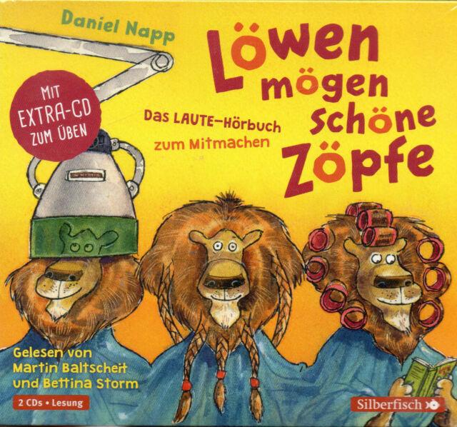 Löwen mögen schöne Zöpfe - Das Laute-Hörbuch zum Mitmachen -  2 CD's - NEU + OVP