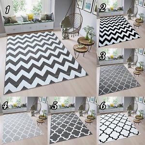 designer teppich modern kurzflor rechteckig gitter zick. Black Bedroom Furniture Sets. Home Design Ideas