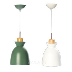 Image Is Loading Wooden Lighting Fixture Pendant Lamp Ceiling Small