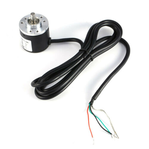 600P//R Photoelectric Incremental Rotary Encoder 5V-24V AB Two Phases Shaft