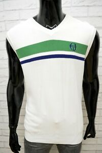 Fila-Maglione-Uomo-Taglia-2XL-Pullover-Bianco-Felpa-Sweater-Man-Maglia-Cardigan