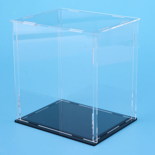 7x5x8 Inch Acrylic Display Case Dust-proof Show Box for Doll Action Figure