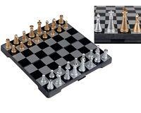 Travel Magnetic Chess Mini Set Board Game Box Portable Small Elegant Classic
