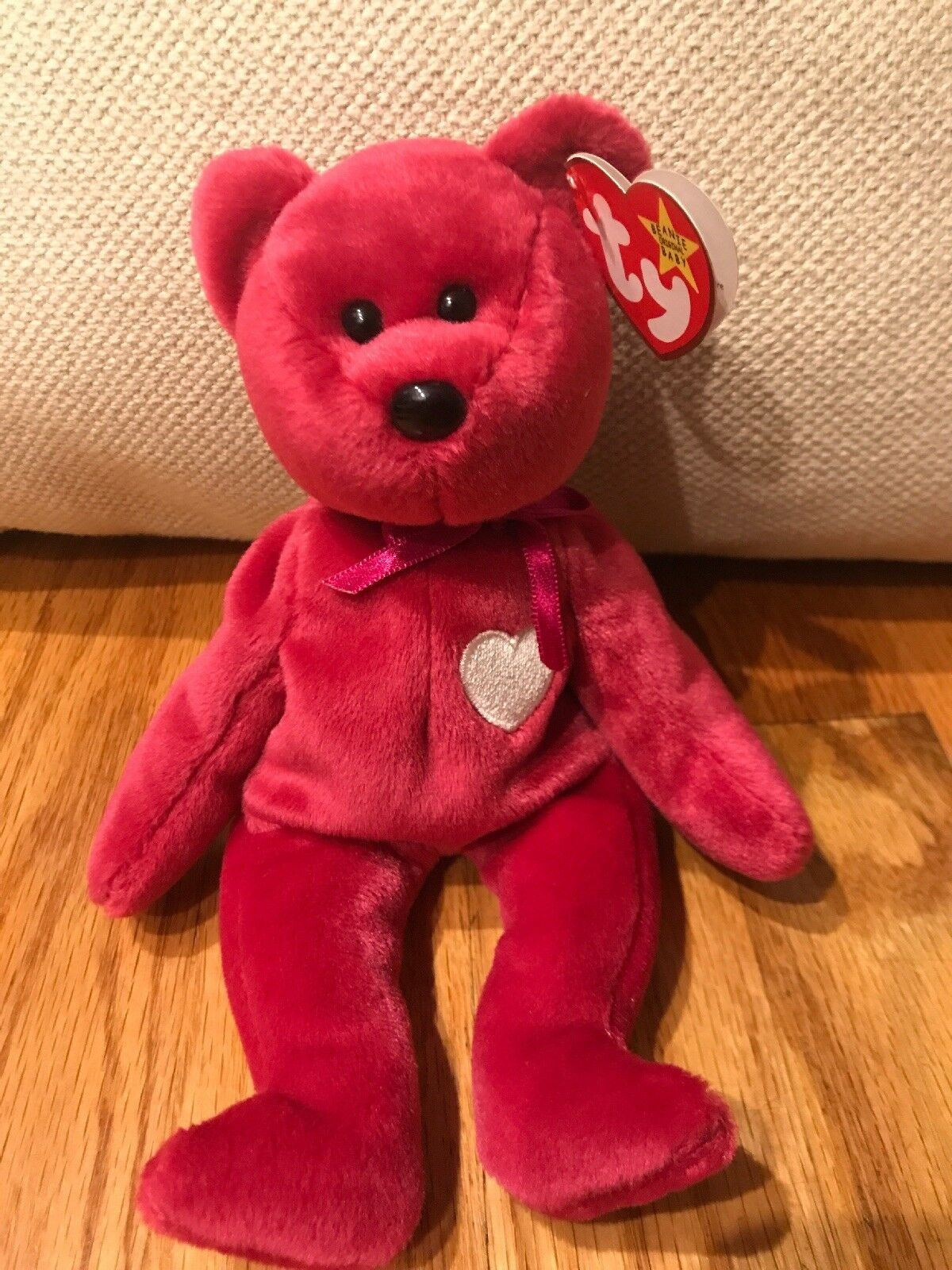 """046b7ddb9a8 Valentina Retired Retired Valentina Ty Beanie Baby With Errors """"Rare"""" 0d28ad"""