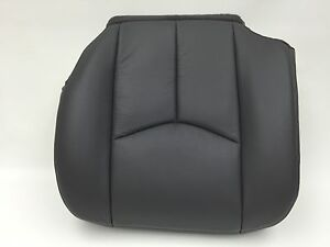 2003 2006 chevy avalanche silverado seat cover vinyl driver very dark gray ebay. Black Bedroom Furniture Sets. Home Design Ideas
