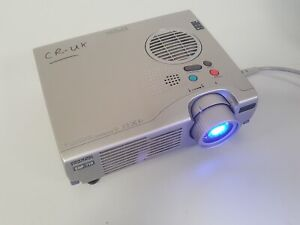 Epson EMP-710 Super Ultra Portable (XGA) Projector With Remote & Cables