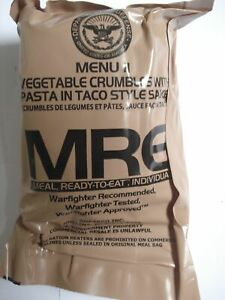US-MRE-Menu-11-Vegetable-Crumbles-Army-EPA-Verpflegung-Notration-Notvorrat