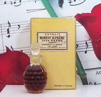 Moment Supreme Extrait / Parfum 6ml. In Pineapple Shape Bottle. Vintage