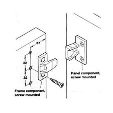 Keku Panel Push-in Fitting Fixing Kitchen Unit DIY