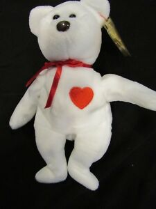e4648cb086f Image is loading Rare-Retired-TY-Beanie-Babies-Valentino-with-Errors-