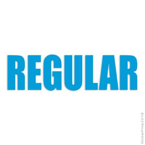 Size #3082 Regular Business Decal Sticker Choose Color