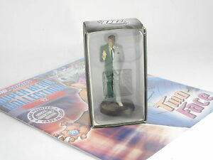 Eaglemoss DC Superhero Figurine Collection Two Face Issue 12 Opened