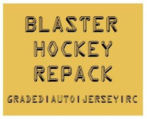 BLASTER-HOCKEY-REPACK-GRADED-AUTO-RC-amp-or-JERSEY-CARDS-75-150-BV
