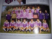 FOOTBALL COUPURE LIVRE PHOTO COULEUR 20x10 D2 GrA FC ISTRES 1989/1990