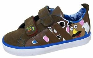 ADIDAS-INFANTS-BOYS-TRAINERS-SHOES-DISNEY-TOY-STORY-INF-UK-4-BROWN