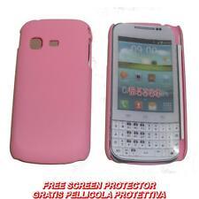 Pellicola + custodia BACK cover ROSA per Samsung Galaxy Chat B5330
