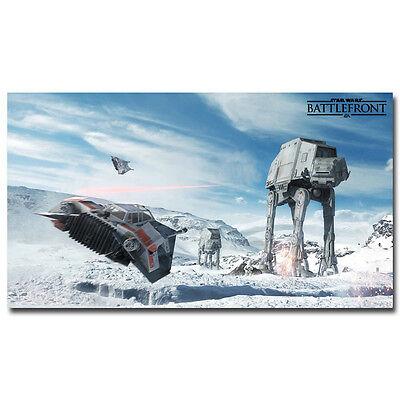 "Star Wars Battlefront Game Silk Poster 13x24 24x43/"" Wall Decor ST051"