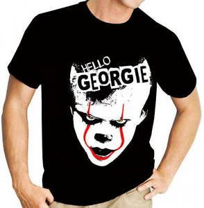 Stephen King/'s IT Pennywise V02 Movie//Film Women/'s Black Vest Clown Georgie