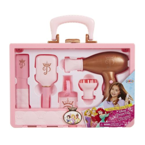 Disney Princess Style Collection Travel Hair Tote Playset