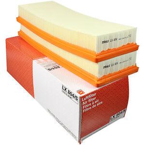 Original-MAHLE-KNECHT-Luftfilter-Filter-LX-804-S-Air