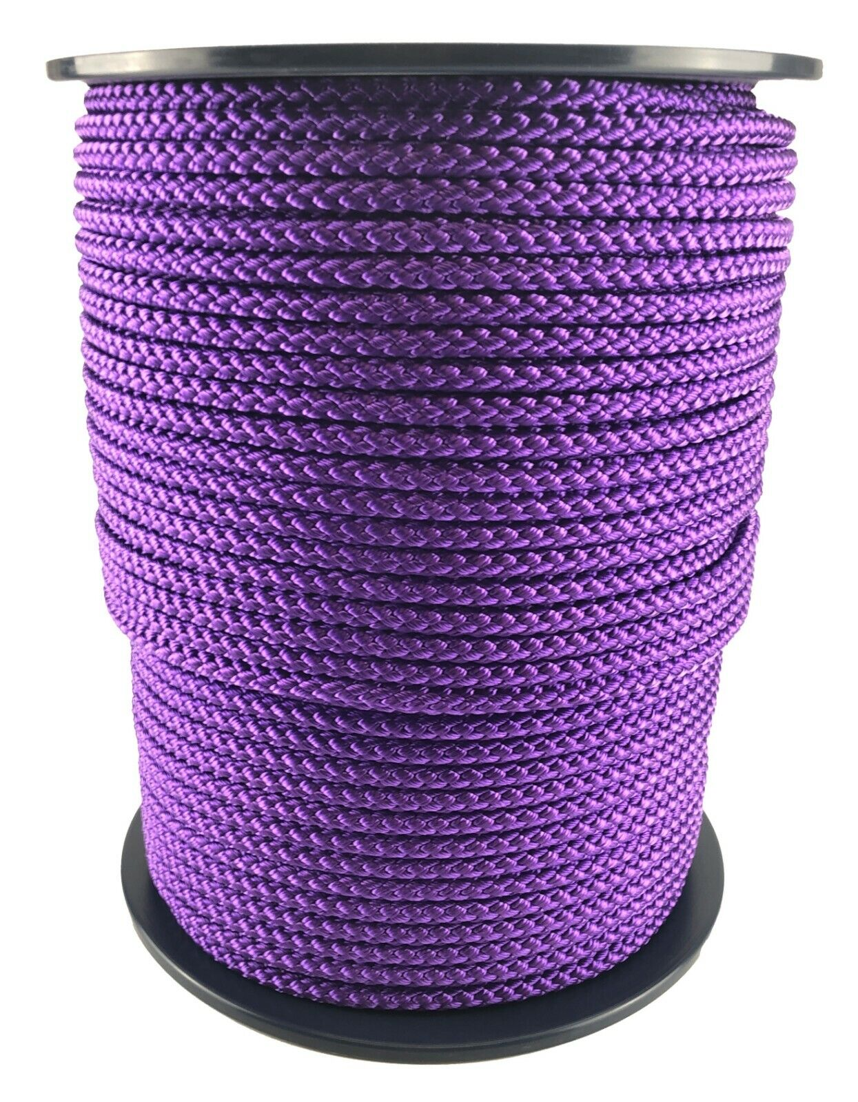 12mm Purple Braided Polypropylene Rope x 45 Metres Poly Line Sailing Boating