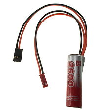 1.2v 2600mAh VapexTech Rechargeable AA Ni-MH Battery Pack with Futaba / JST Lead