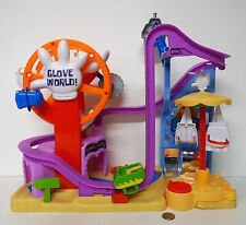 Fisher-Price Imaginext SpongeBob SquarePants Glove World Roller Coaster !!!