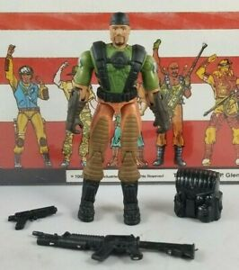 Original-2004-GI-JOE-HEAVY-DUTY-V9-ARAH-Complete-UNBROKEN-figure-Valor-Venom
