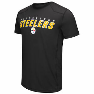 Pittsburgh-Steelers-G-III-NFL-Short-Sleeve-Synthetic-Performance-Tee-Size-L