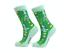 Ladies Christmas Tree Geometric Aztec Socks Seamless Toe Xmas Stocking Filler