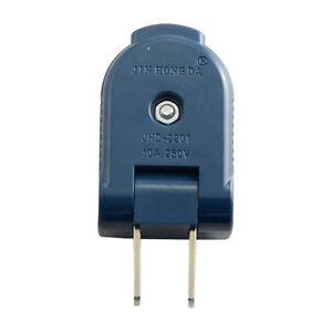 Rewirable-2-Pin-Male-USA-Plug-Connector-Socket-Detachable-90-Degree-10A-250V