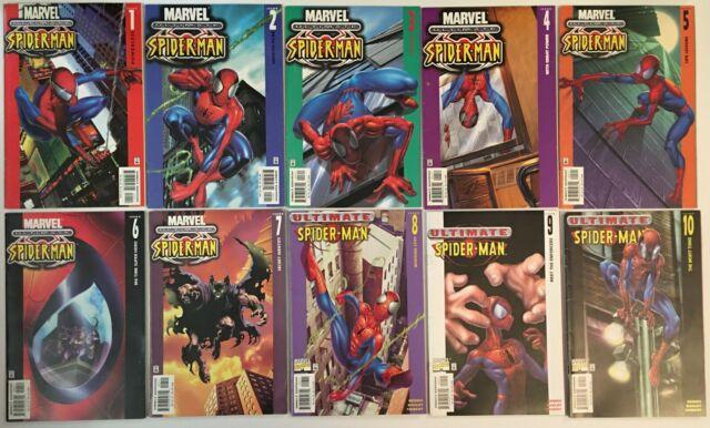 Marvel Comics Ultimate Spider-Man lot