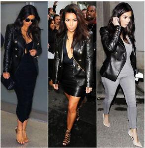 doppiopetto Kim Kim Kardashian Giacca Kardashian Giacca doppiopetto wUqrnYFU