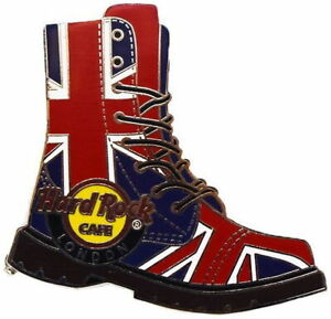 Hard-Rock-Cafe-LONDON-PICCADILLY-CIRCUS-2019-Union-Jack-Combat-Boots-PIN-LE-400
