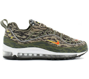 Details about Nike air max 98 Aop Pack Men's Sneaker AQ4130 200 97 Shoes Camouflage New