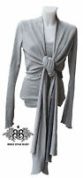 Rsb Rock Star Baby Cardigan Mums Glamour Grey Silver Light Size M 02-02 /b25