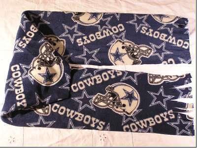 Dallas Cowboys Football Fleece Scarf