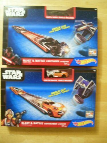 Star Wars Blast /& Battle Lightsaber Launcher Darth Vader /& Luke Skywalker 2