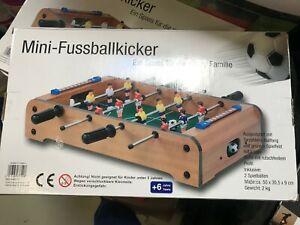 Mini-Fussballkicker-Football-Table-Kicker-Baby-Foot-de-Baby-Foot-Incl-2-Balles