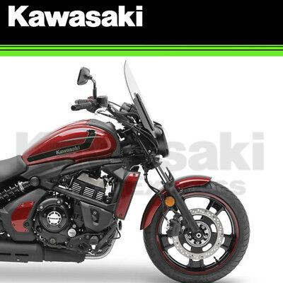 Kawasaki Vulcan 2017 >> New 2017 Genuine Kawasaki Vulcan S 650 Medium Fixed Windshield 99994 0828 Ebay